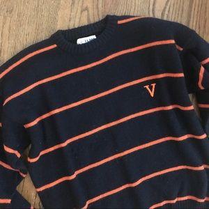 Vintage UVA University of Virginia wool sweater M